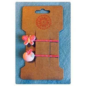 Kawaii Butterfly Hair Pins Set